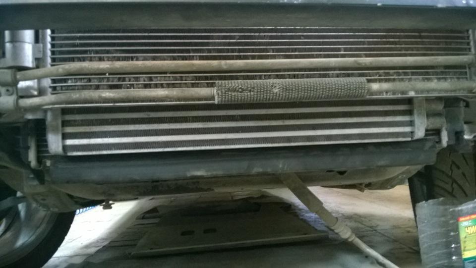 дополнительный радиатор охлаждения акпп volvo