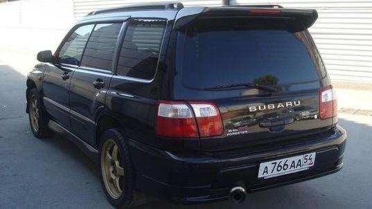 Subaru Forester Sti Sf5 Black Drive2