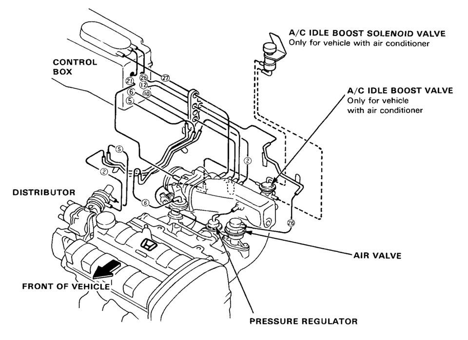 Схема подключения блока к