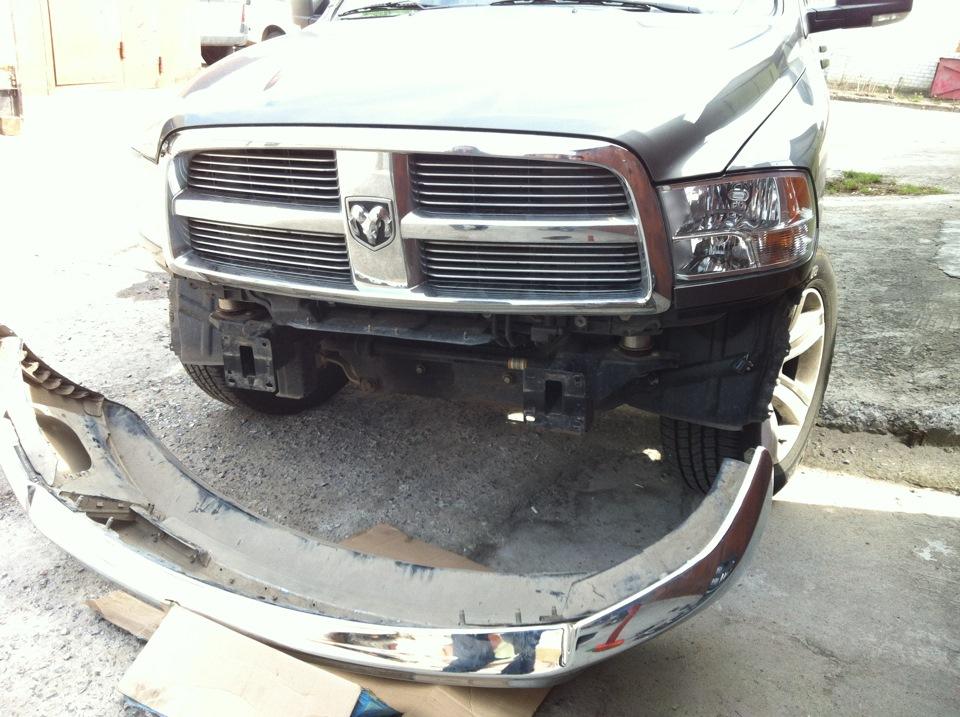 4th gen 2500 bumper on 1500 - DodgeTalk : Dodge Car Forums
