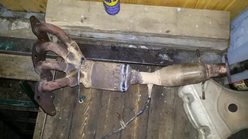 Катализатор форд фокус 2 замена своими руками