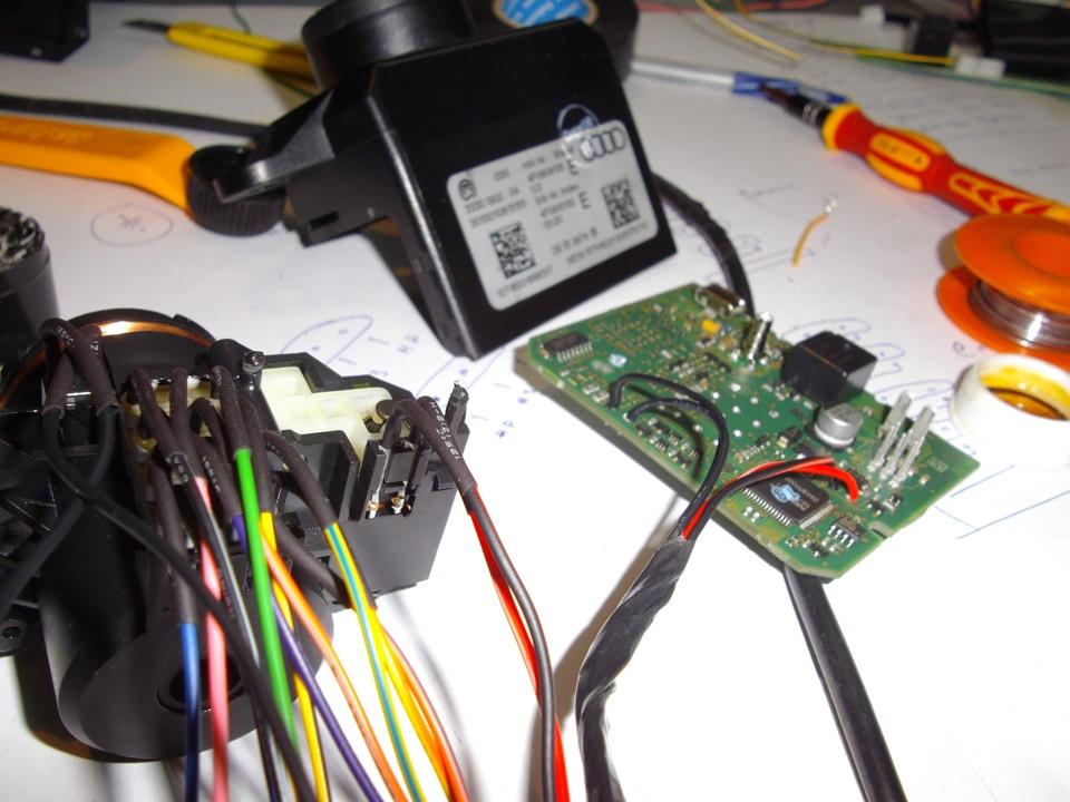 drive 2 реализация автозапуска на audi a6 2006 u/