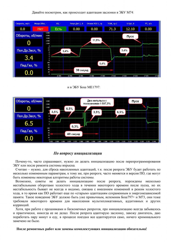 работа дросселя схема е-газ для калины