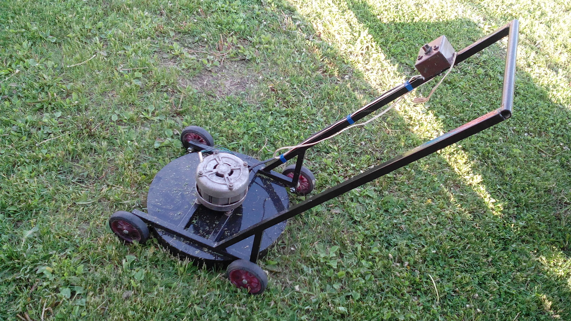 Сенокосилка для высокой травы своими руками 61