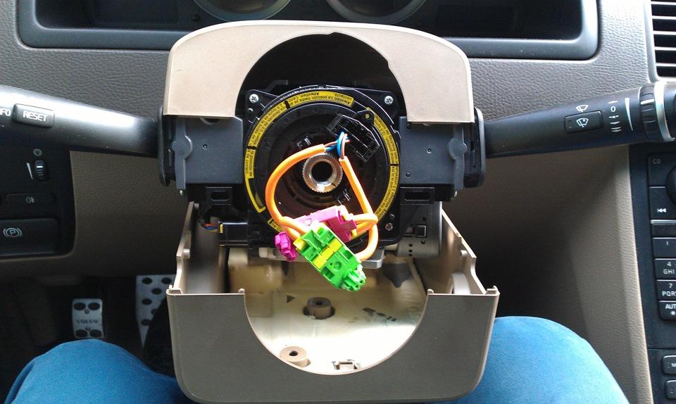 volvo xc90 датчик угла рулевого колеса