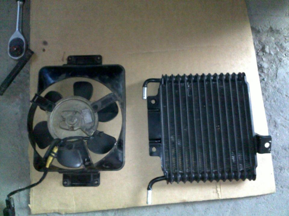 Купил на разборе радиатор АКПП