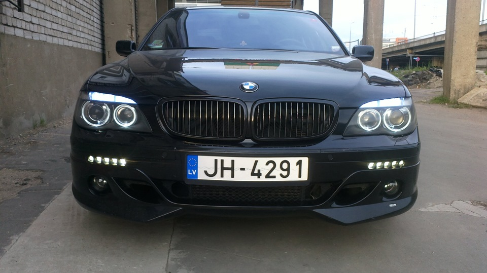 Bmw E65 Restyling Led Drl Nolden Angel Ayes And Led Turn