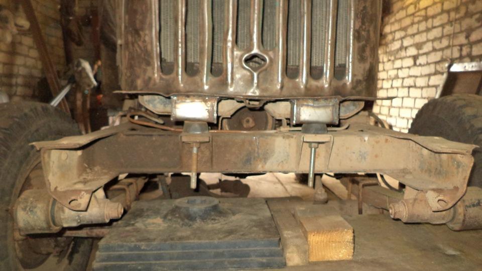 Кузов газ 69а посажен на раму уаз 31514 и сделан ровный пол - бортжурнал ГАЗ 69А ГиБриД 1959 года на DRIVE2