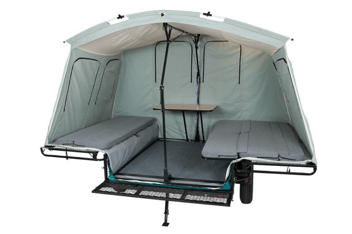 Палатка для прицепа своими руками