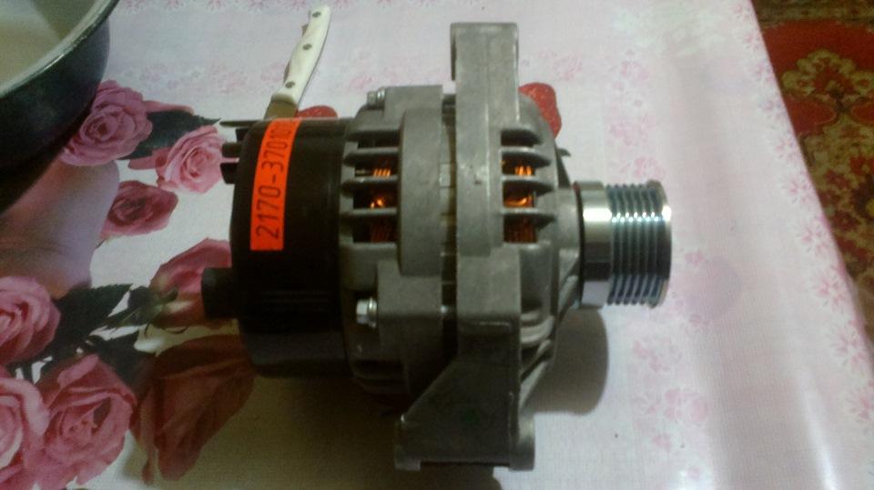 Ваз 21074 генератор фото