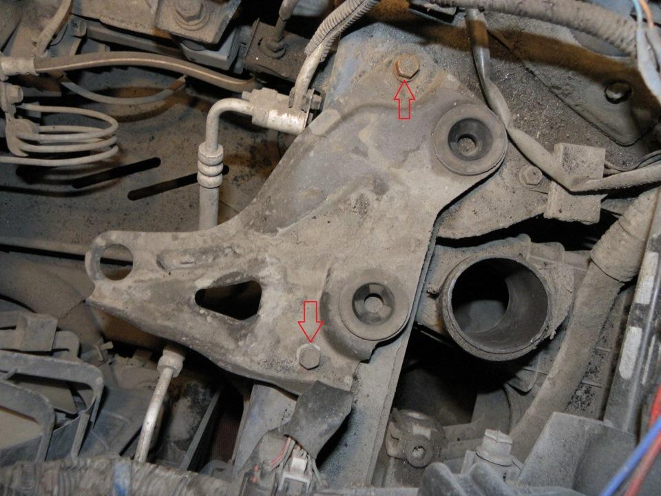 кронштейн крепления корпуса воздушного фильтра mazda 6