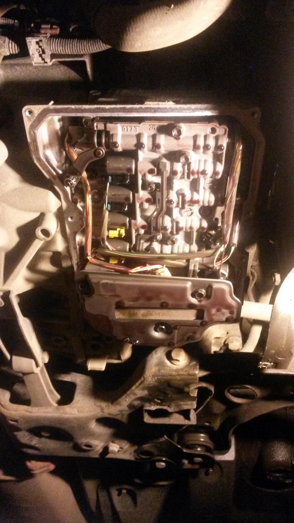 Замена масла в автоматической коробке передач 38