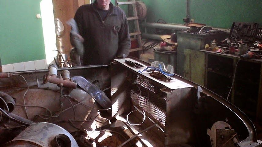 Шрус от девятки в место кардана на тракторе мтз82