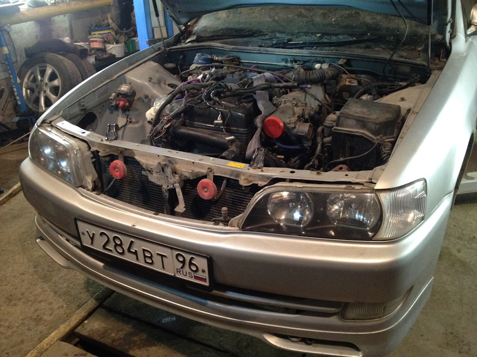 2jzgte non vvti +R154 mt + ORC — logbook Toyota Chaser 1998