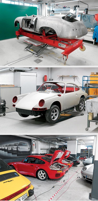 Технические характеристики Porsche  Порш справочник по