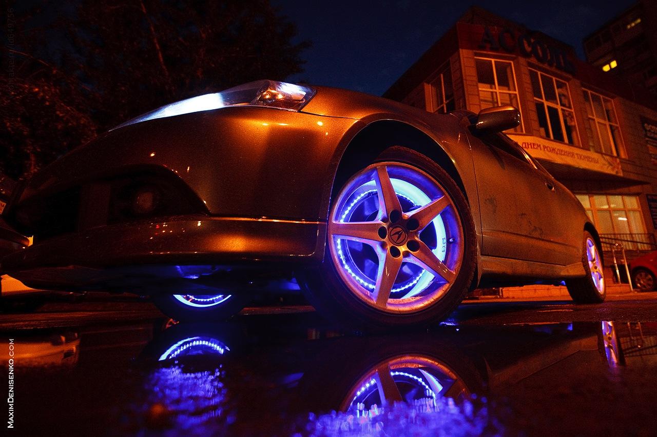 Подсветка колес своими руками фото