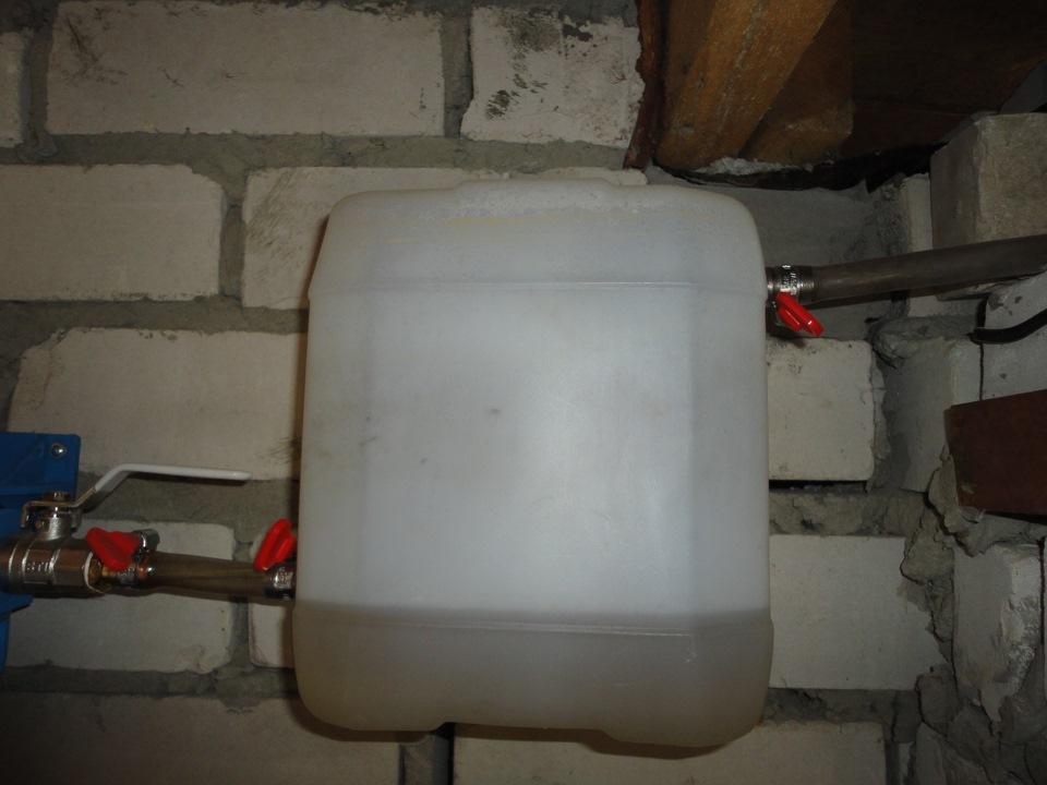 Как сделать воду в гараж 131