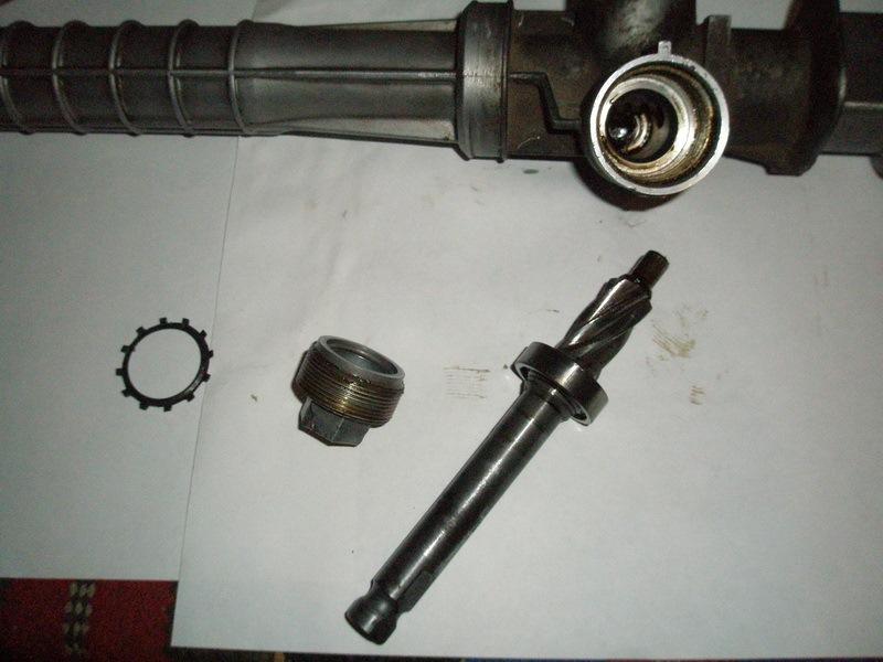 Ремонт рулевой рейки с гур на ланосе своими руками