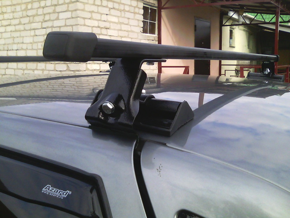 Багажник на крышу автомобиля 2111 своими руками 27