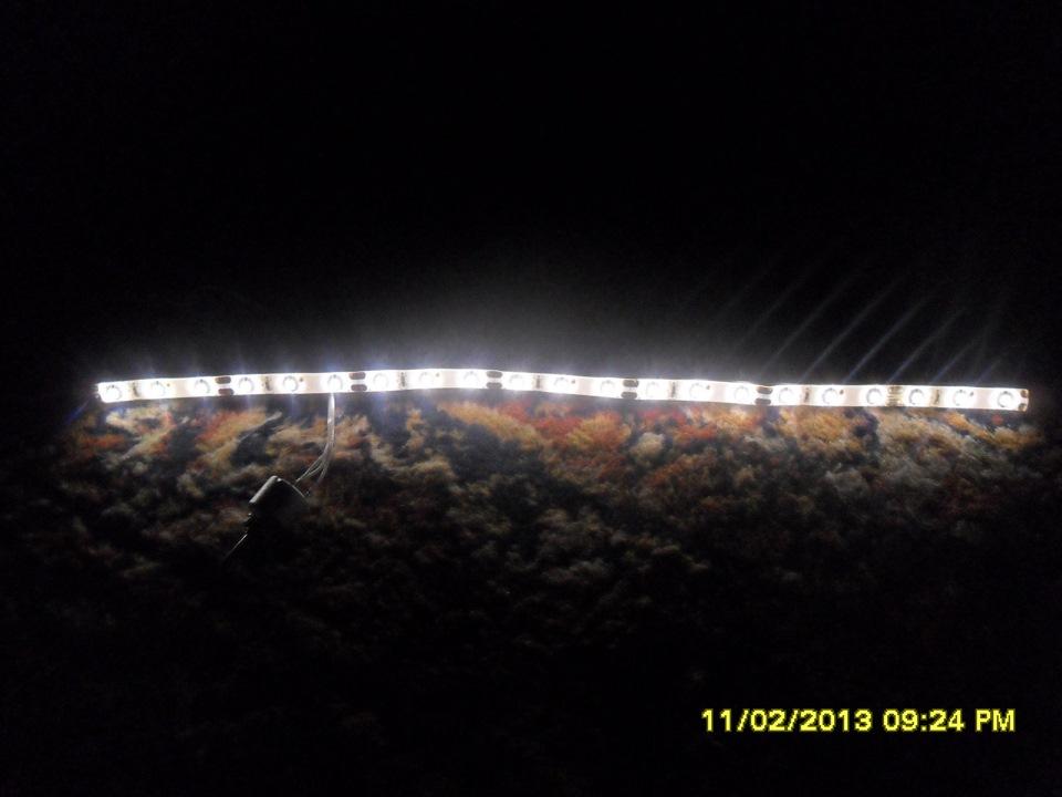 Схема светодиодов в ленте