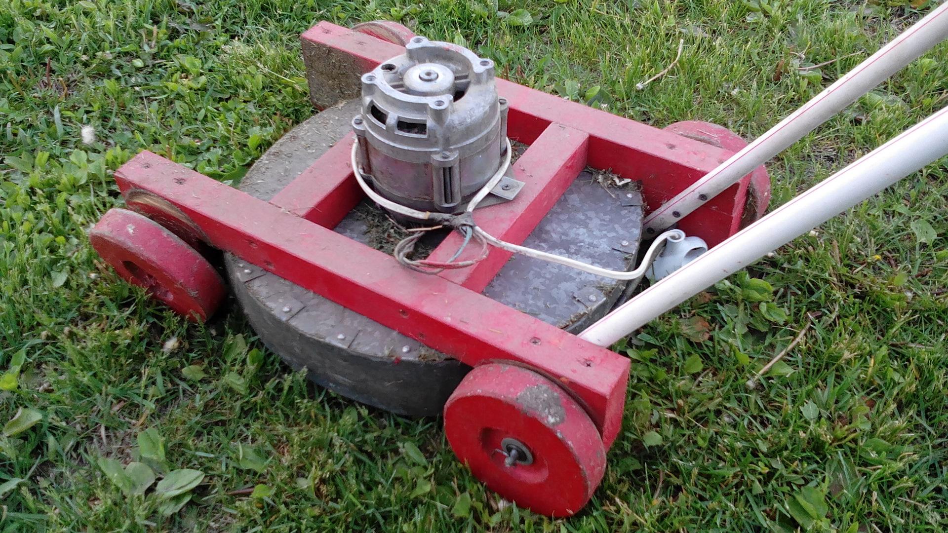 Двигатель для косилки своими руками