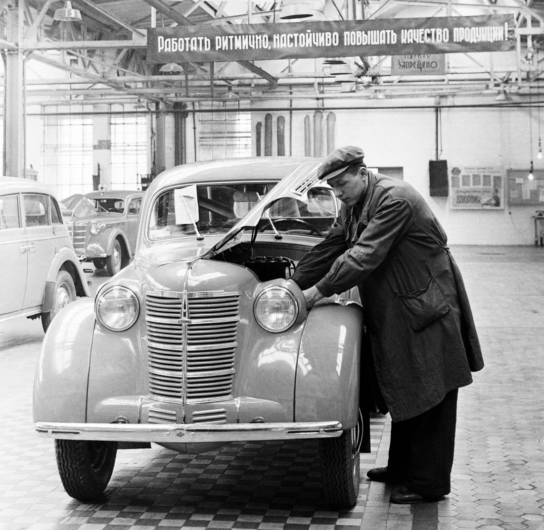 История автомобилестроения в картинках