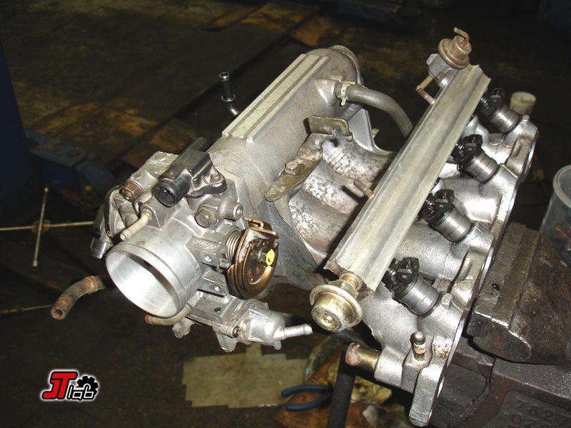 установка турбины на атмосферный двигатель nissan