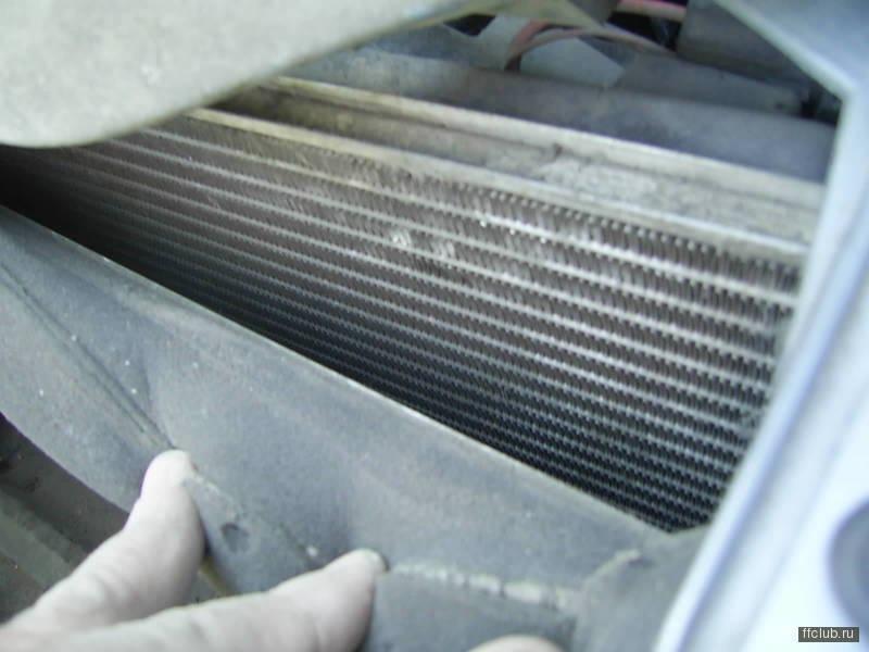 Чистка радиатора форд фокус своими руками 260