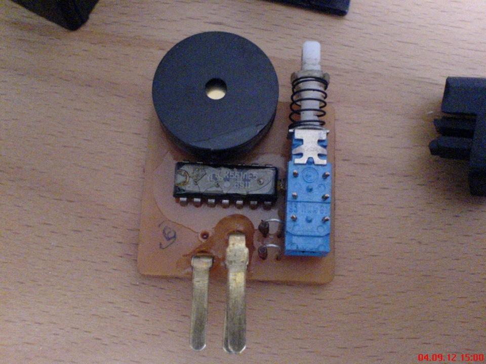 Звуковой сигнализатор поворота своими руками фото 660