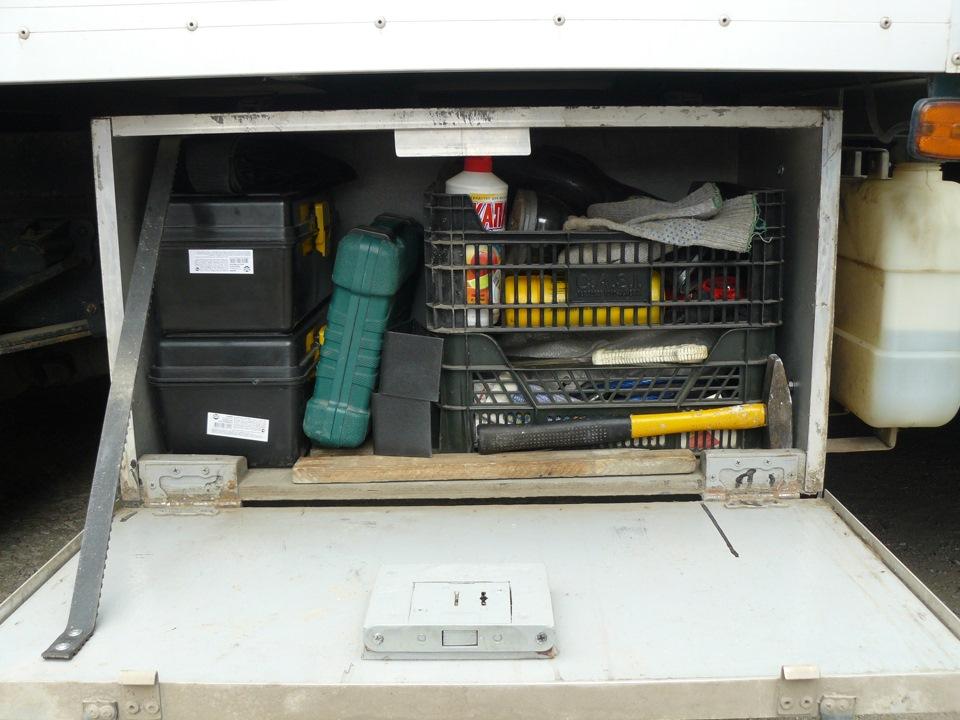 Газель ящик для инструмента