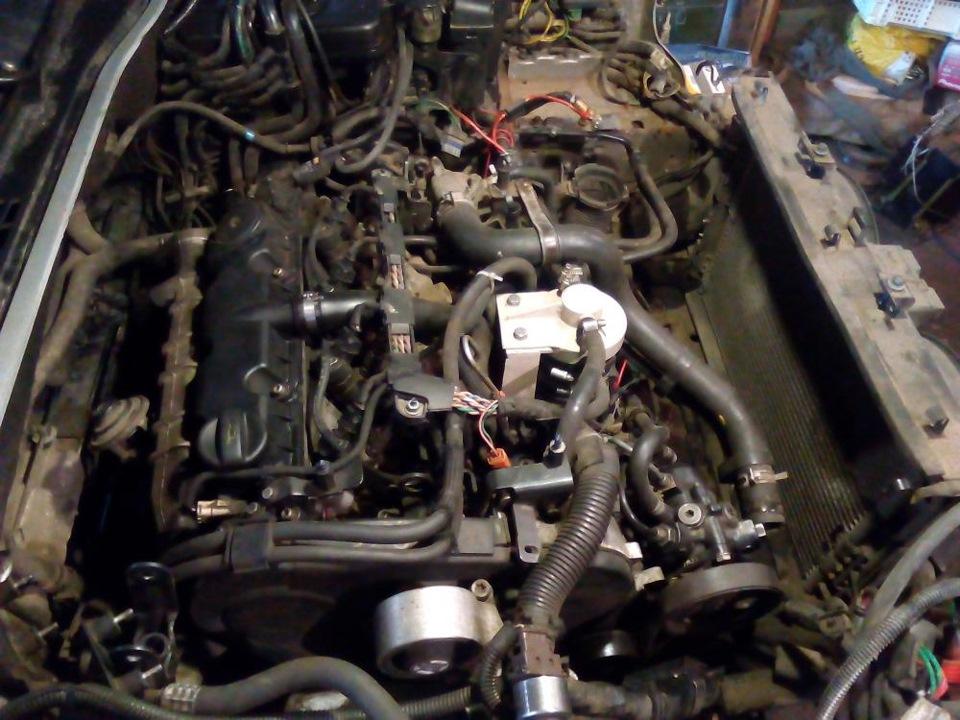как снять мотор с ситроена ксантия бензин