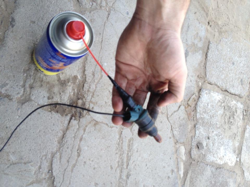 Чистка инжектора своими руками мазда 3