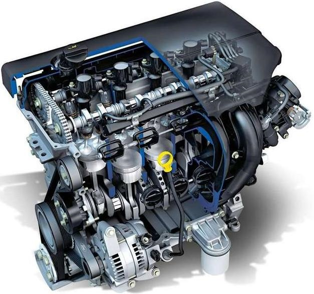 Ford Duratec HE Engine 2.0 L