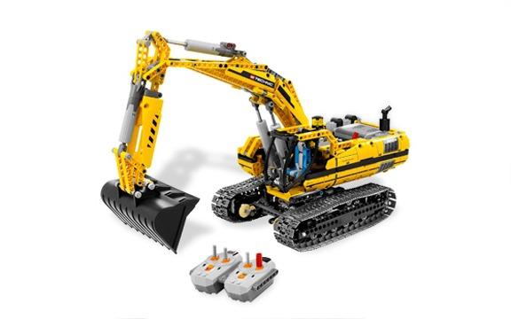 LEGO Technic 8043 — эксковатор
