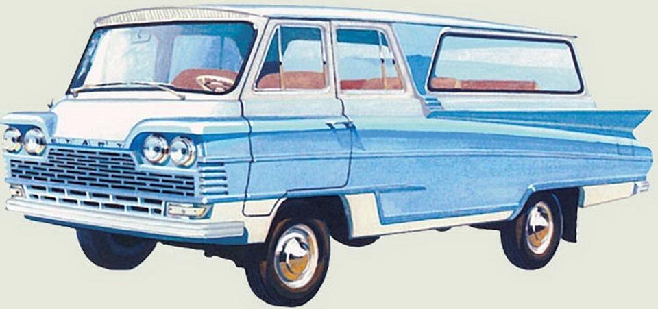 Старт в работе знаменитого автомобильного художника Александра Захарова
