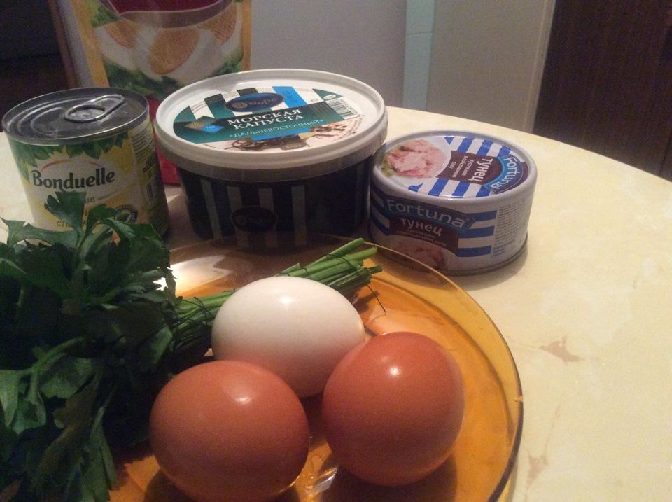 Рецепты морская капуста салат