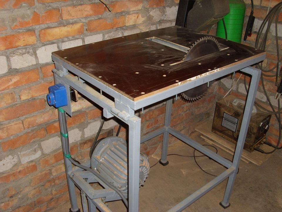 Стол для циркулярного станка своими руками