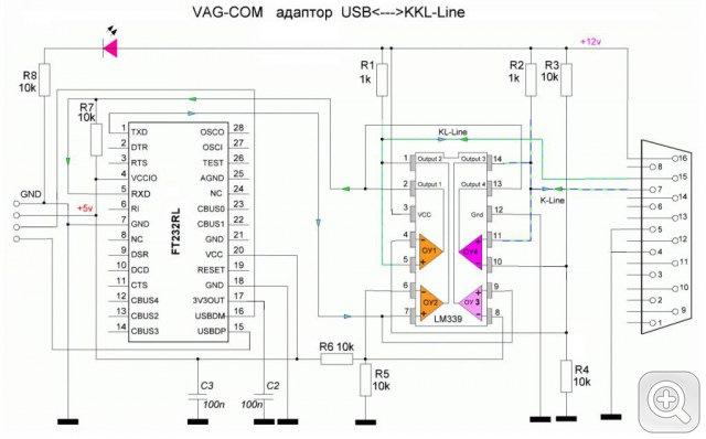 Usb vag com схема 16
