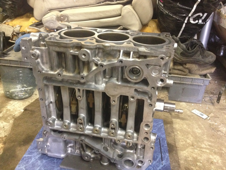 Снимаем двигатель субару своими руками