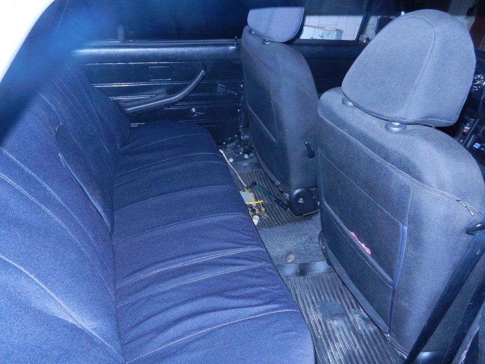 установка сидений с ford sierra на ваз