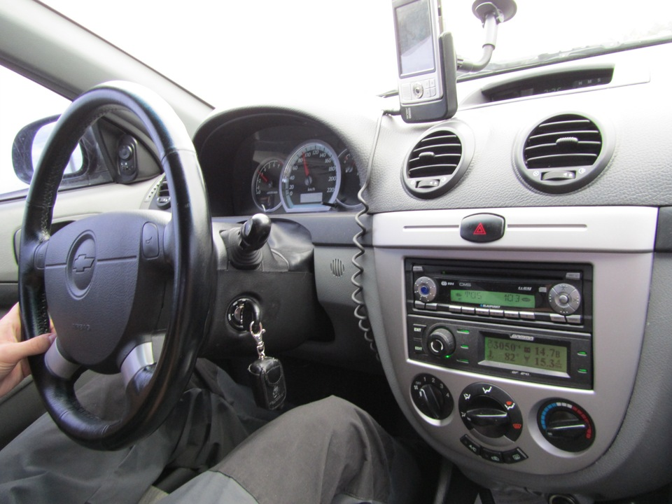 бортовой компьютер на chevrolet lacetti hatch 2007