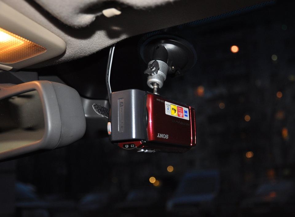 Видеорегистратор из фотоапарата видеорегистратор автомобильный nns microsd