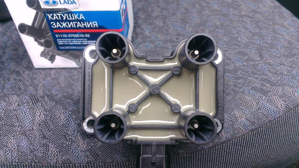 Фото модуля зажигания на ваз 2114