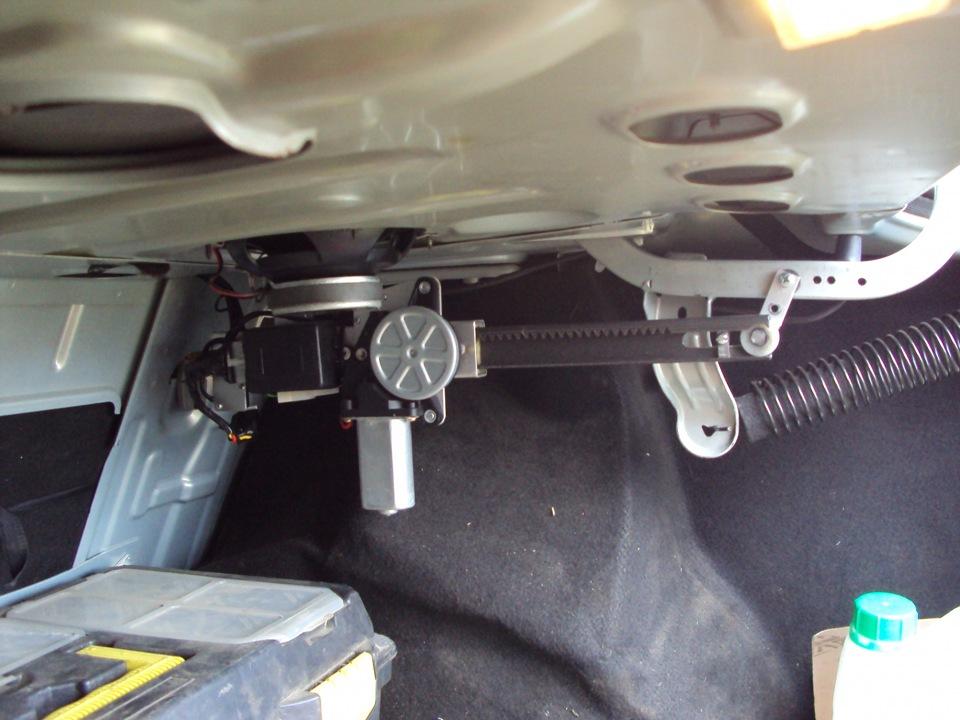 замка багажника, схема