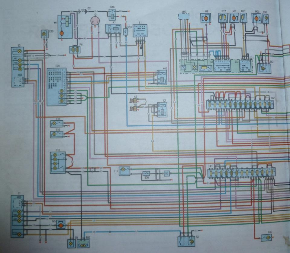 мотор крайслер электрическая схема