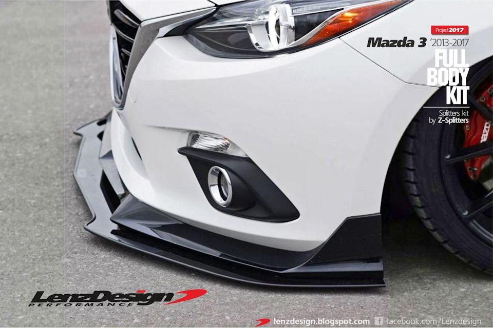 Mazda 3 Bm Axela 2017 2016 Tuning Body Kit Lenzdesign Performance On Drive2