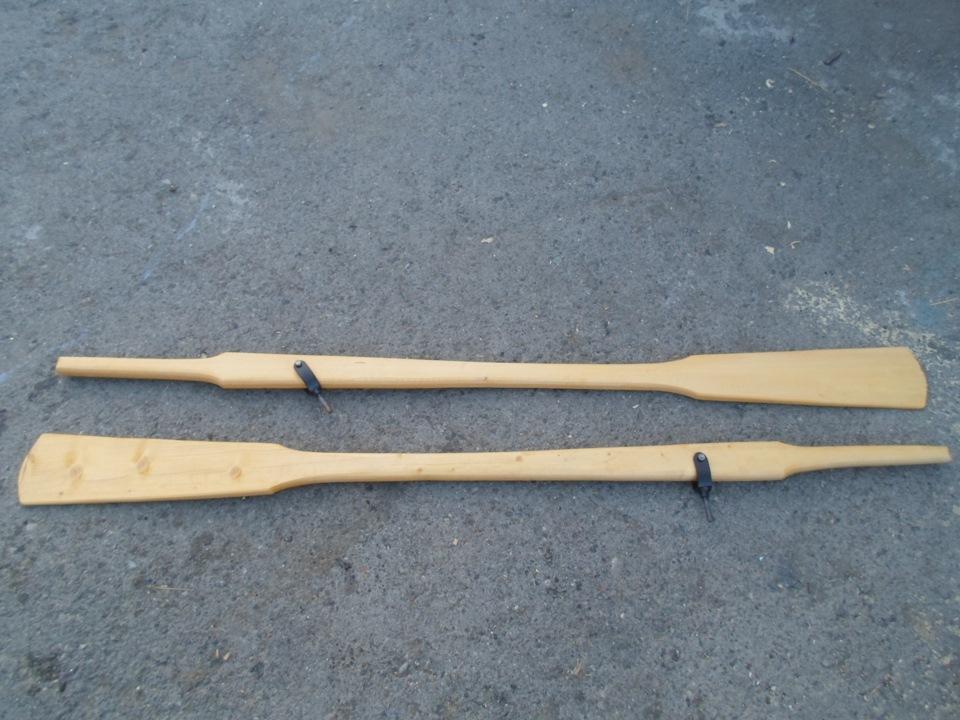 Весло для деревянной лодки