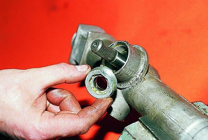 Фото №26 - замена ремкомплекта рулевой рейки ВАЗ 2110