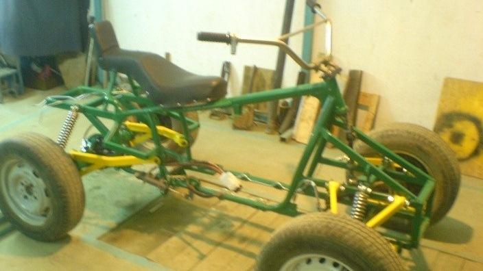 Квадроцикл из урала схема