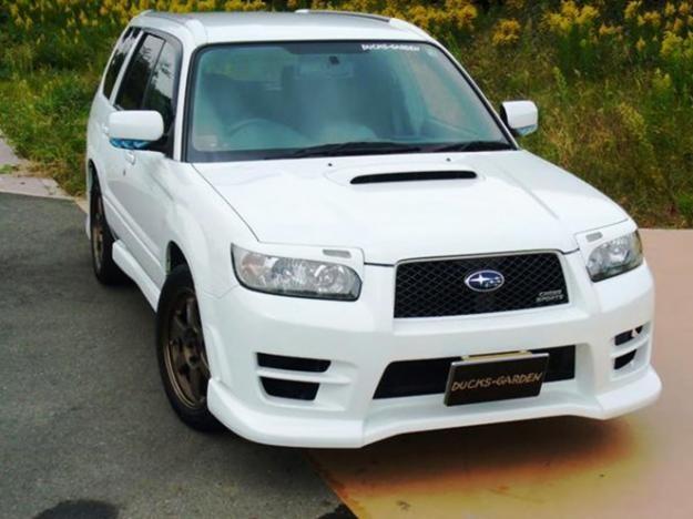 Subaru forester тюнинг своими руками